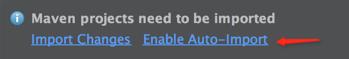如果弹出这个提示,点击Enable Auto-Import