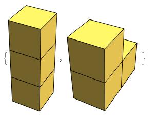 3-cube set