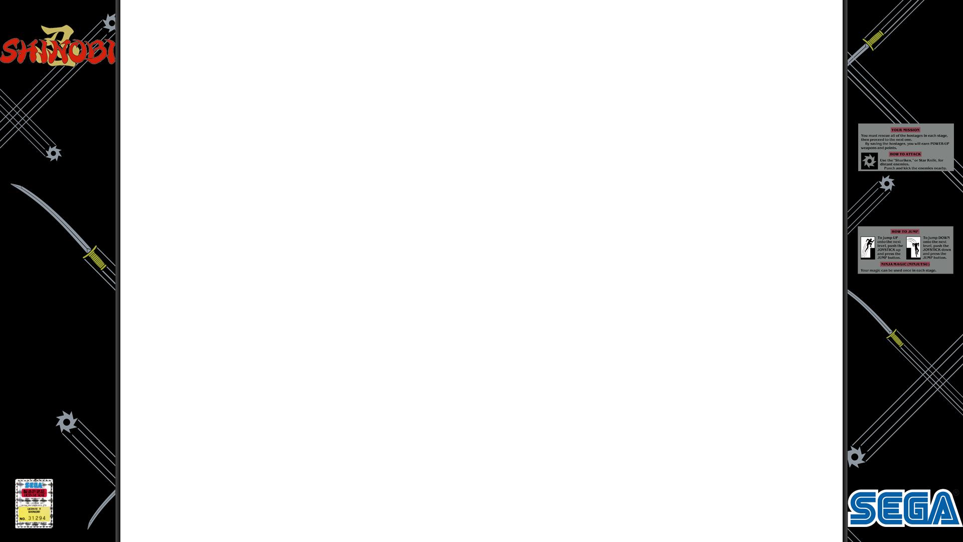 Shinobi 1080p overlay