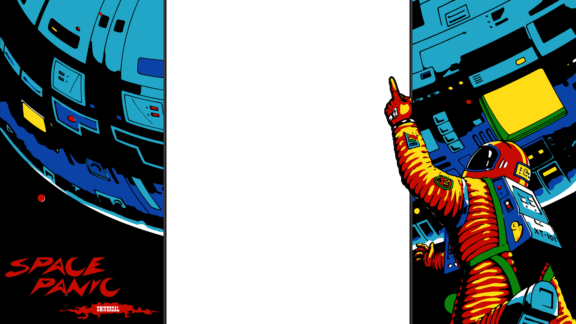 Space Panic 1080p overlay