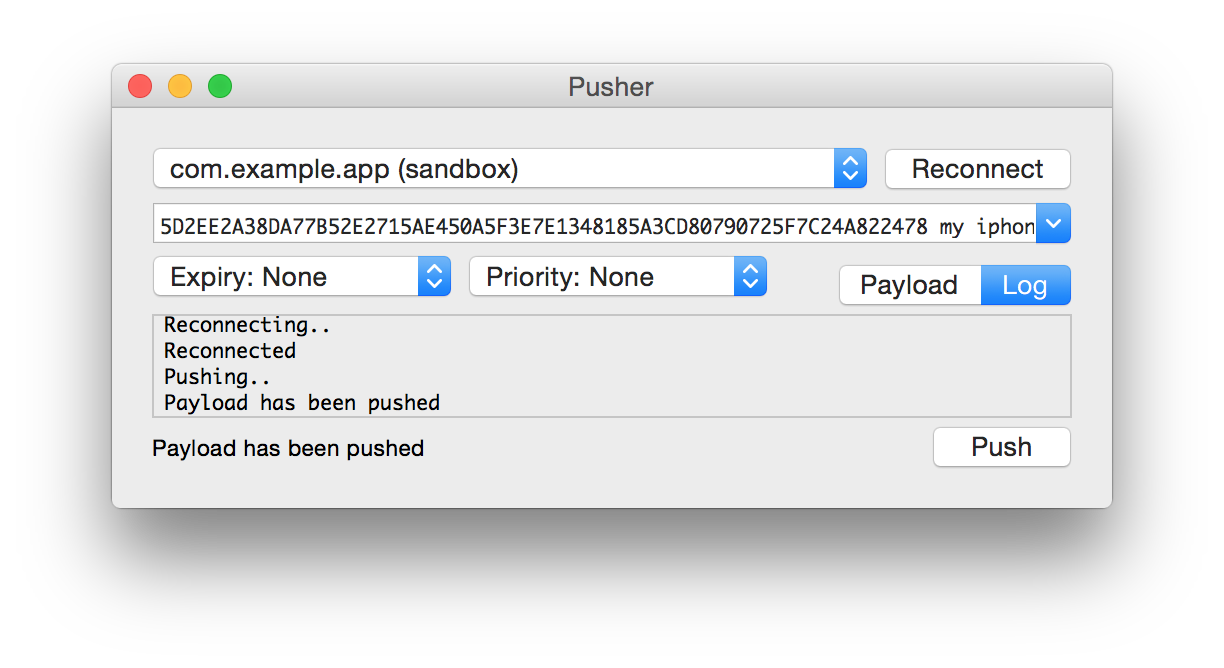NWPusher on CocoaPods org