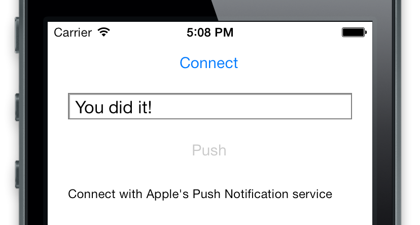 Pusher iOS