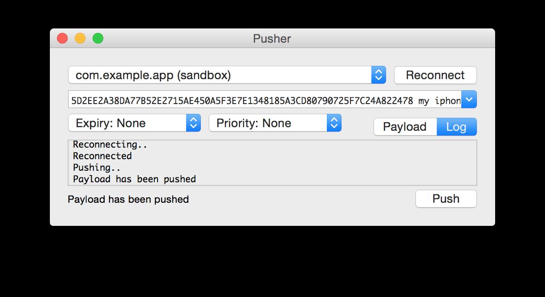 Pusher OS X