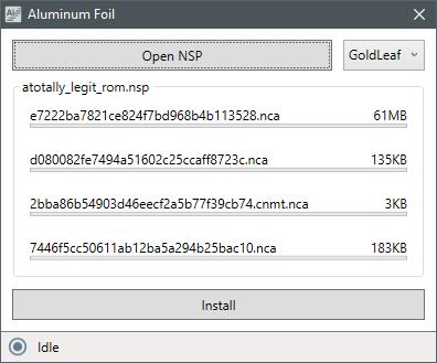 GitHub - nosmokingbandit/AluminumFoil: USB Installer for