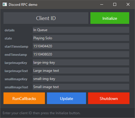 GitHub - nostrenz/cshap-discord-rpc-demo: Quick demontration of the