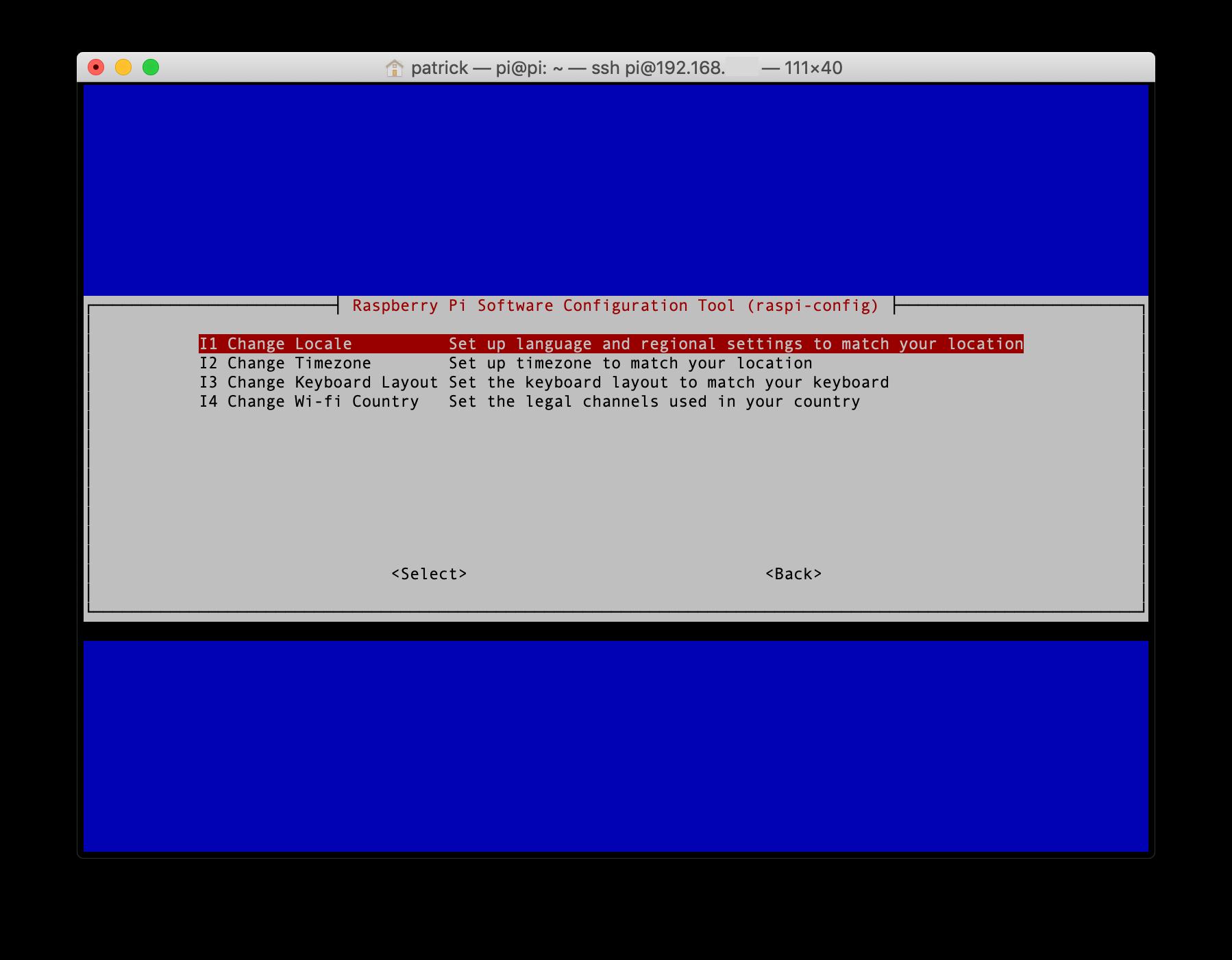 Raspberry Pi Localisation Options
