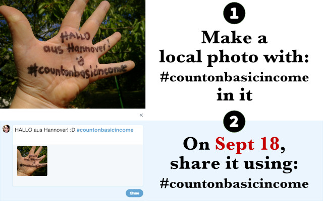 Example #countonbasicincome instructions for twitter
