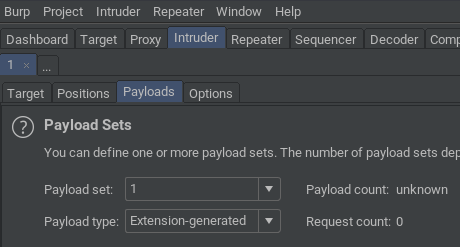 Payload Type