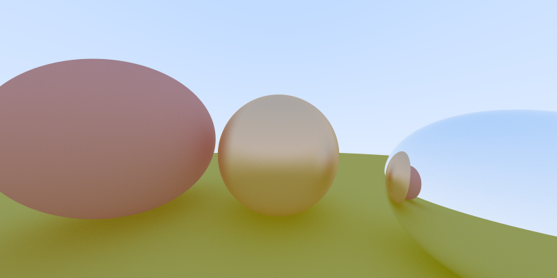 example image of C pathtracer