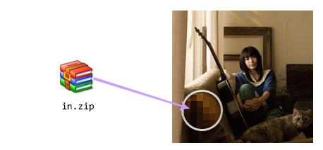 图片像素低位写入、导出文件