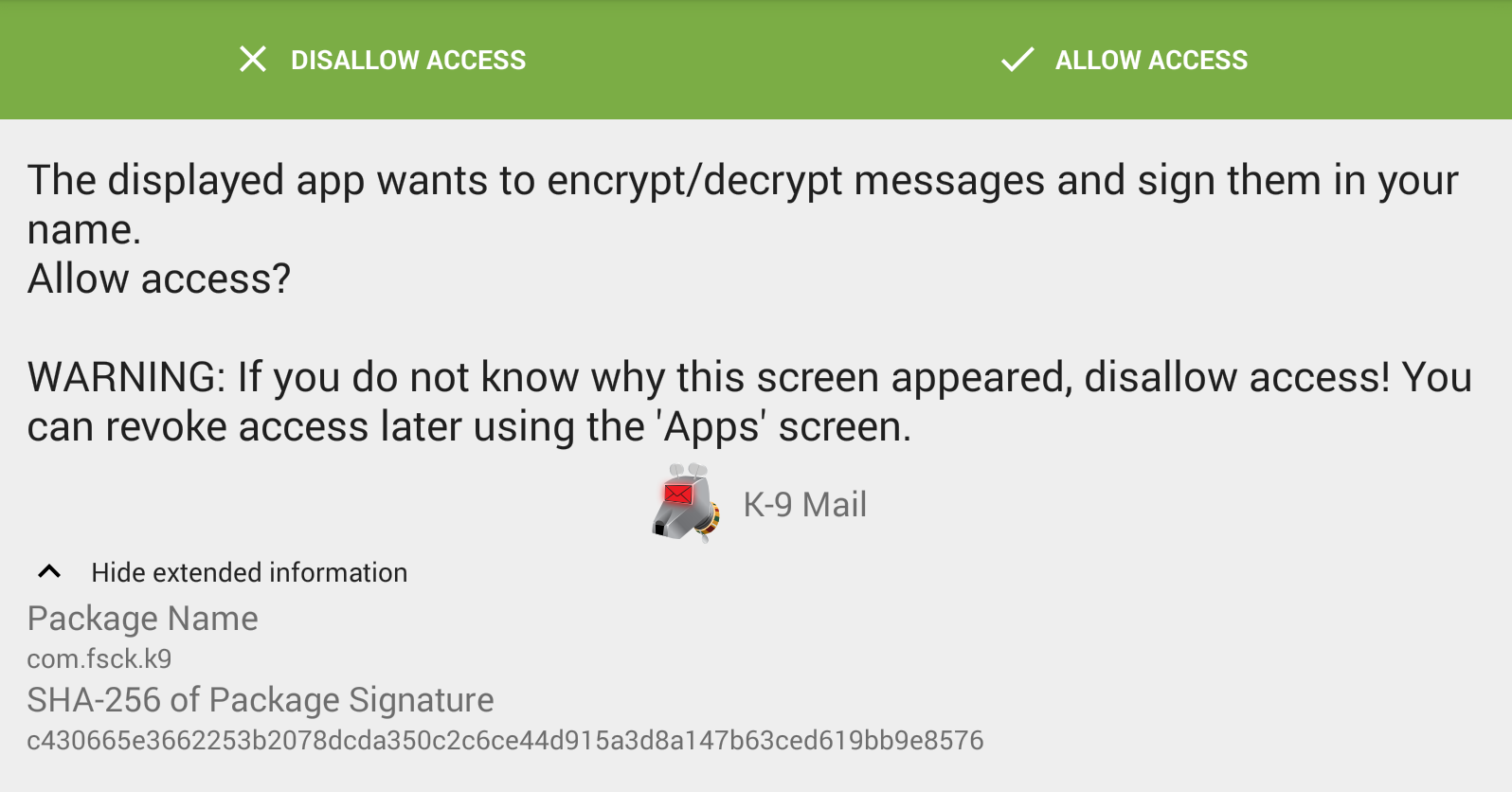 E-Mail PGP Encryption: Android - Linos Wiki