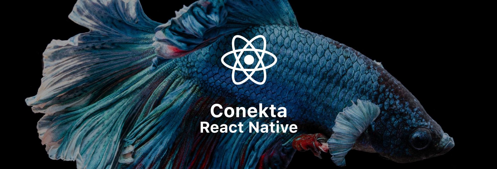 Conekta React Native banner