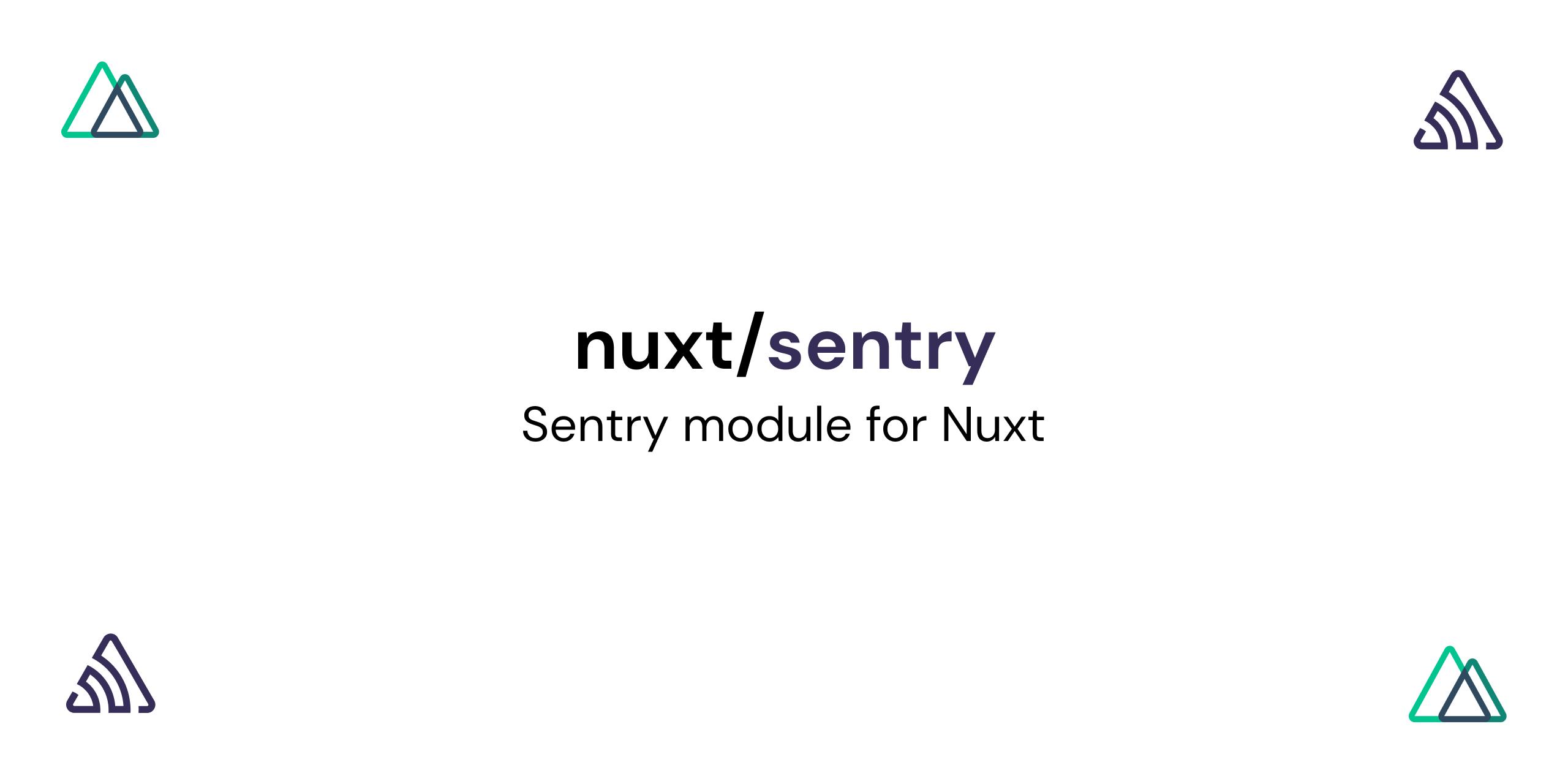@nuxtjs/sentry
