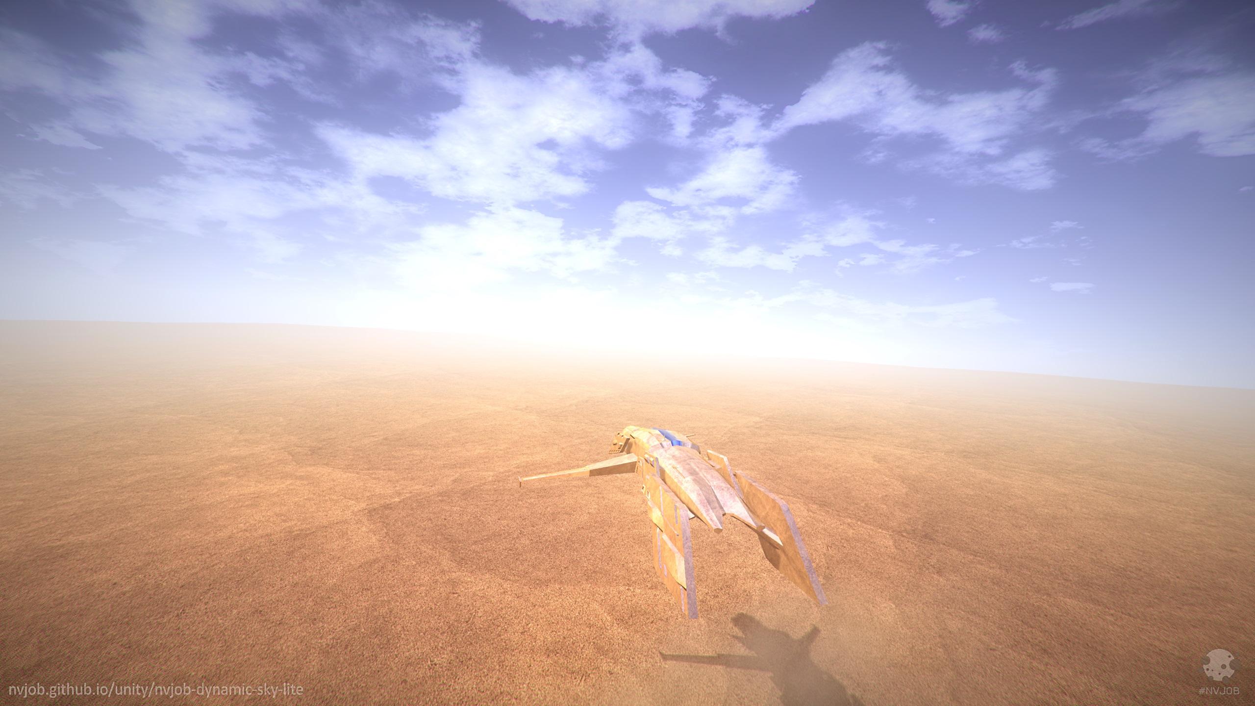 #NVJOB Nicholas Veselov (nvjob.github.io) | Dynamic Sky Lite (standard render) Unity Asset