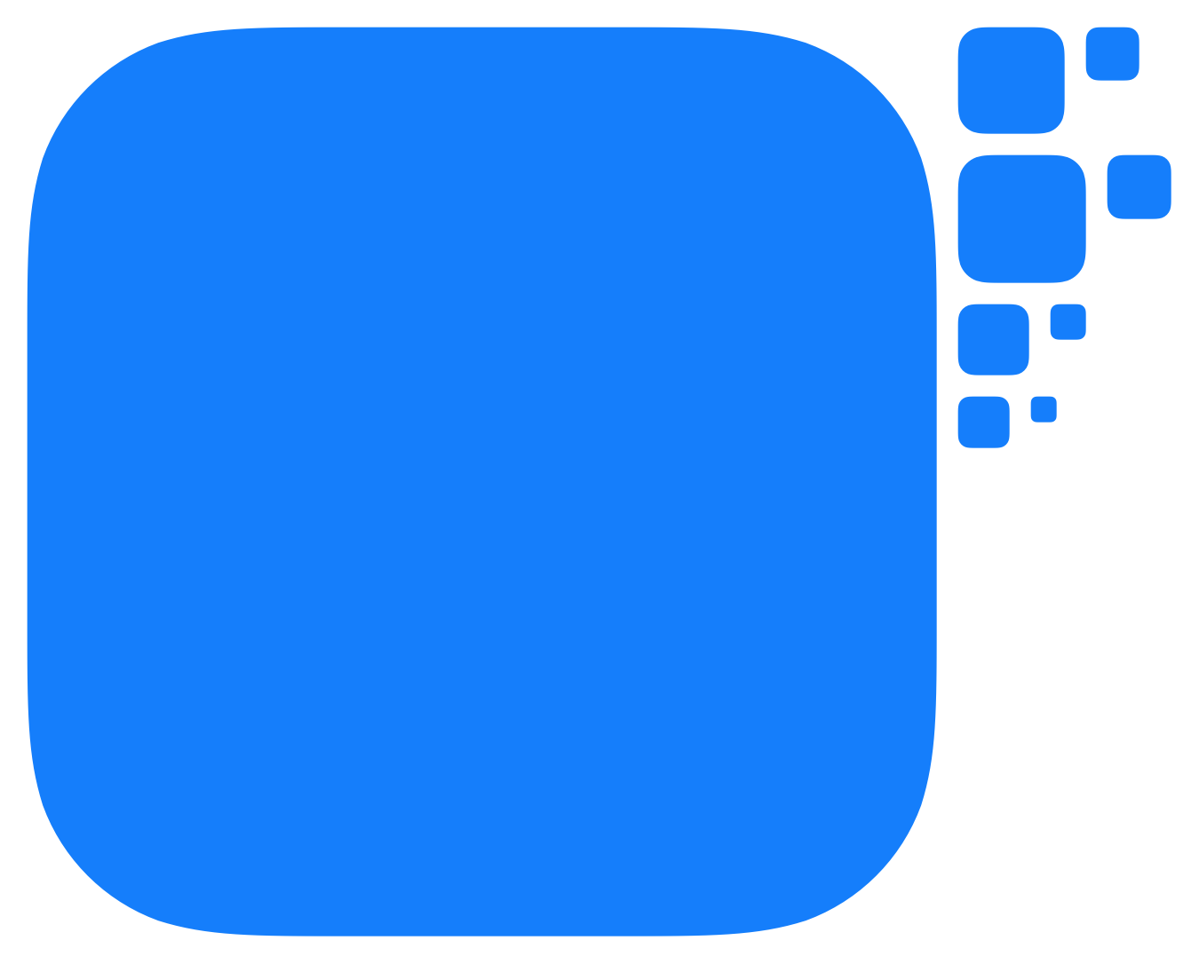 iOS7 App Icon Template