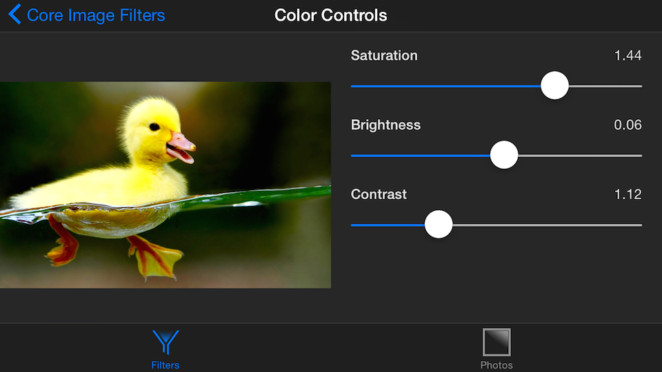 Color Controls