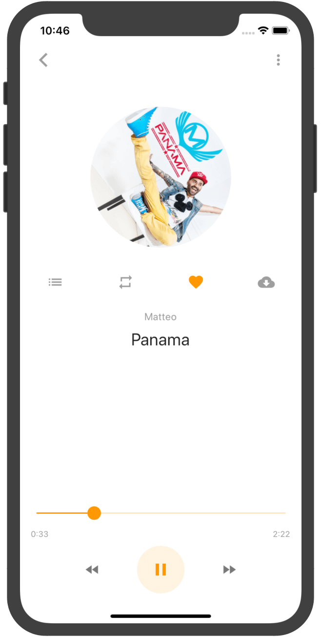 Flutter Music Player