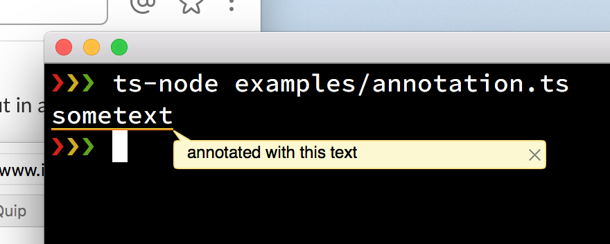 annotation demo
