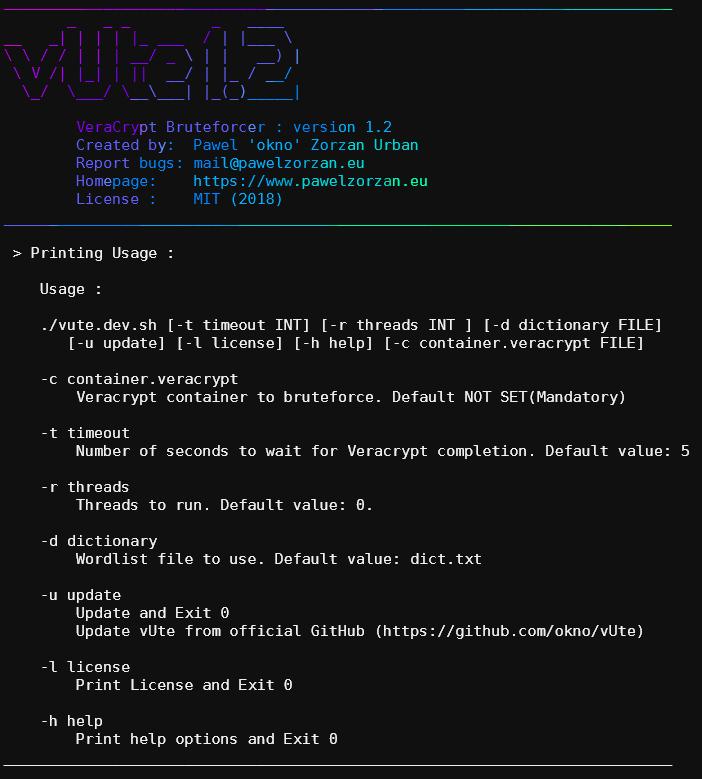 vUte Screenshoot