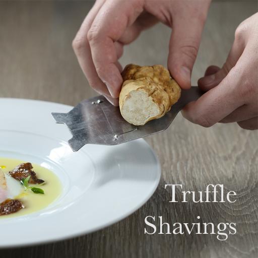 truffle-shavings