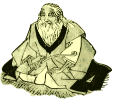 Wise old man from https://openclipart.org/detail/190655/wise-old-man-by-j4p4n-190655