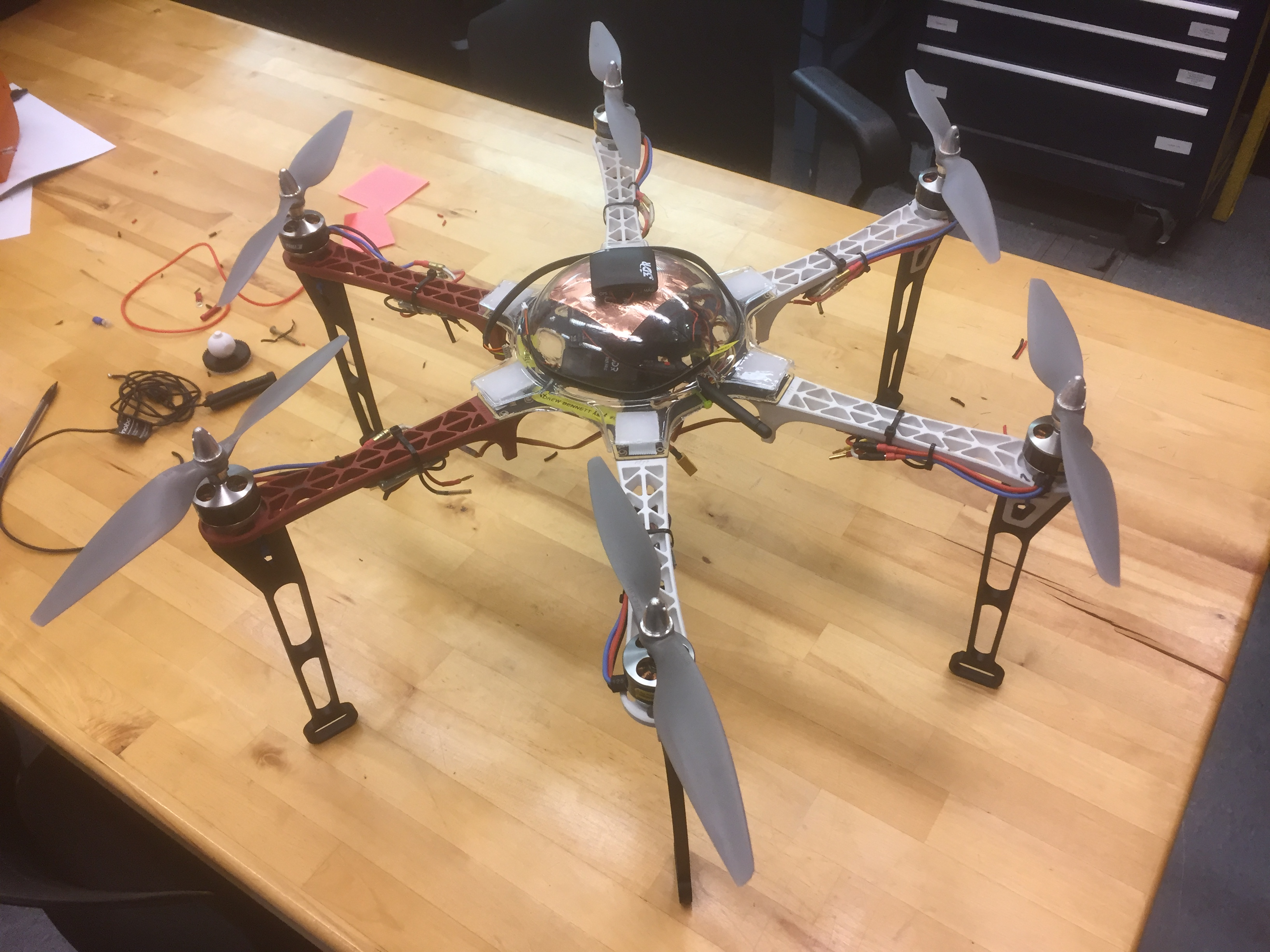Frodo: The F550 Flamewheel Hexacopter