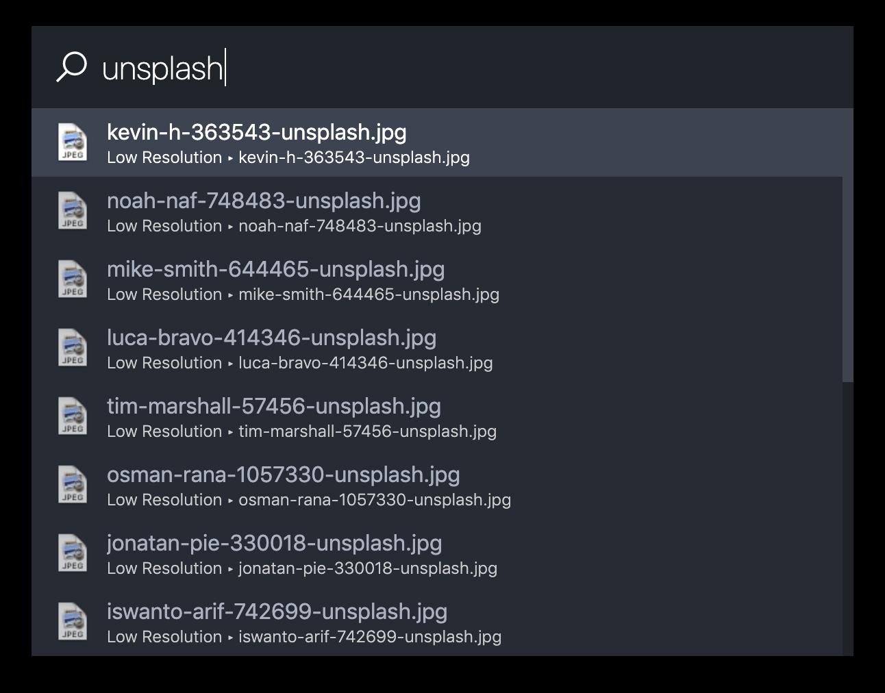 simple-folder-search