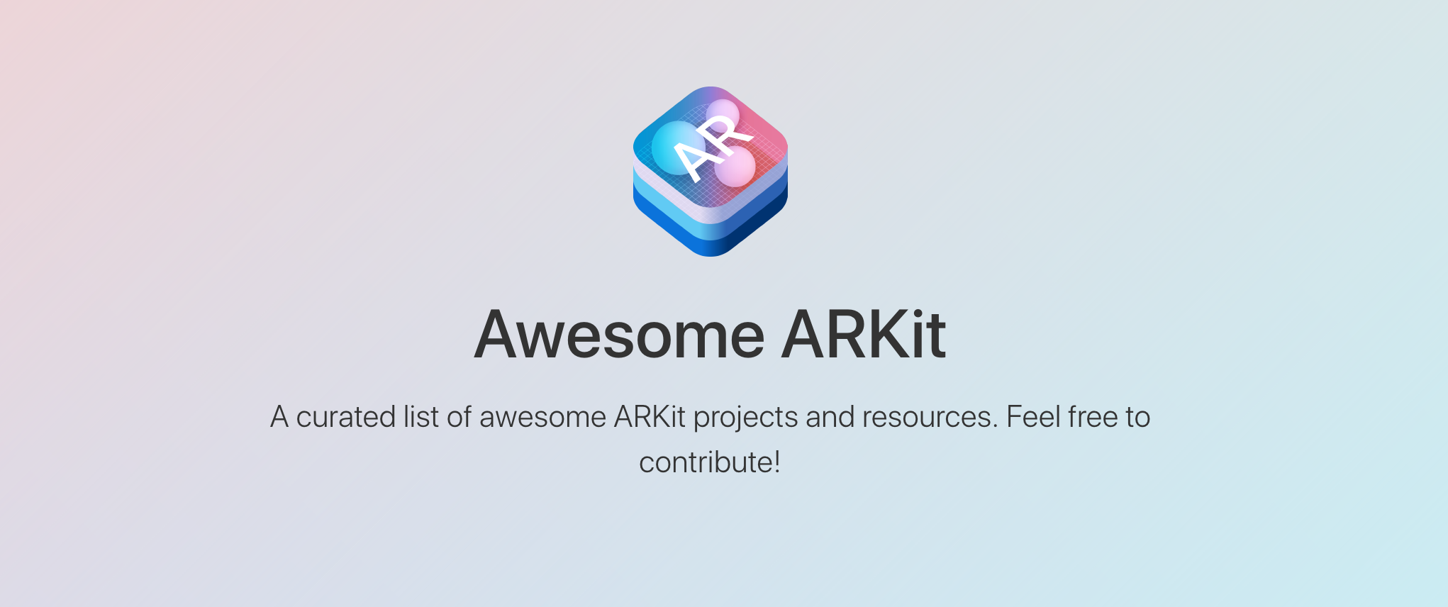 GitHub - olucurious/Awesome-ARKit: A curated list of awesome