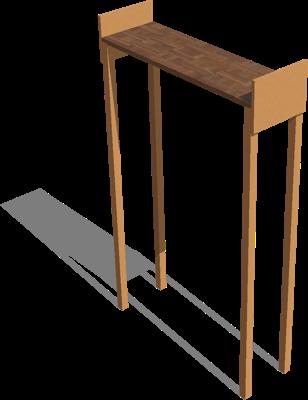 Webots documentation: Stairs