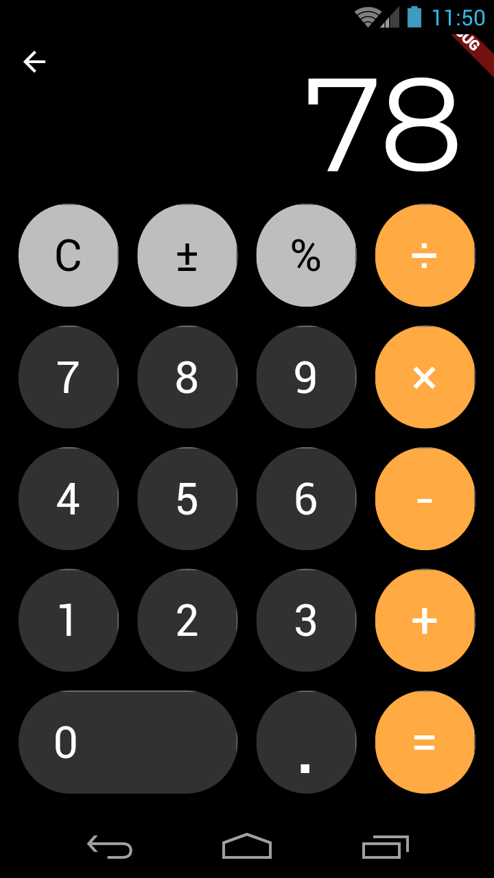 iOS 11/12 Style Calculator for Android