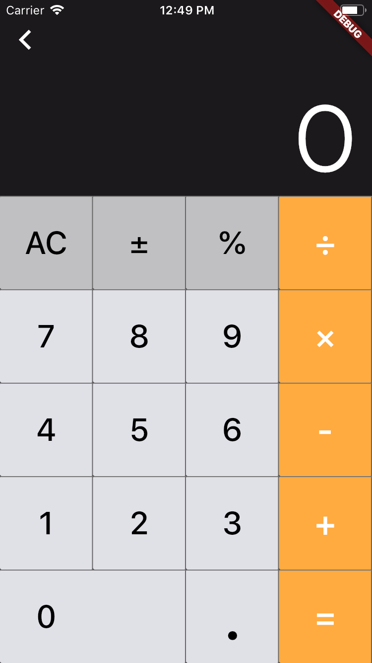 iOS 10 Style Calculator for iPhone