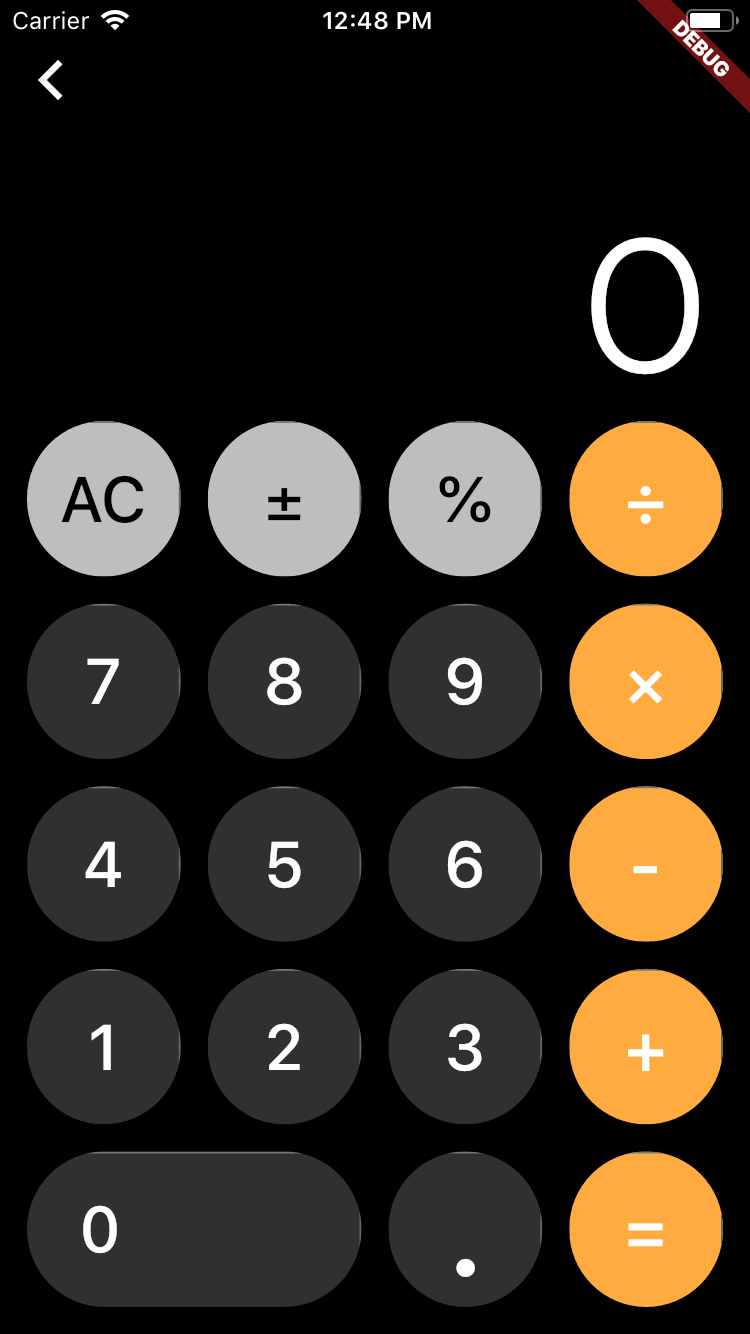iOS 11/12 Style Calculator for iPhone
