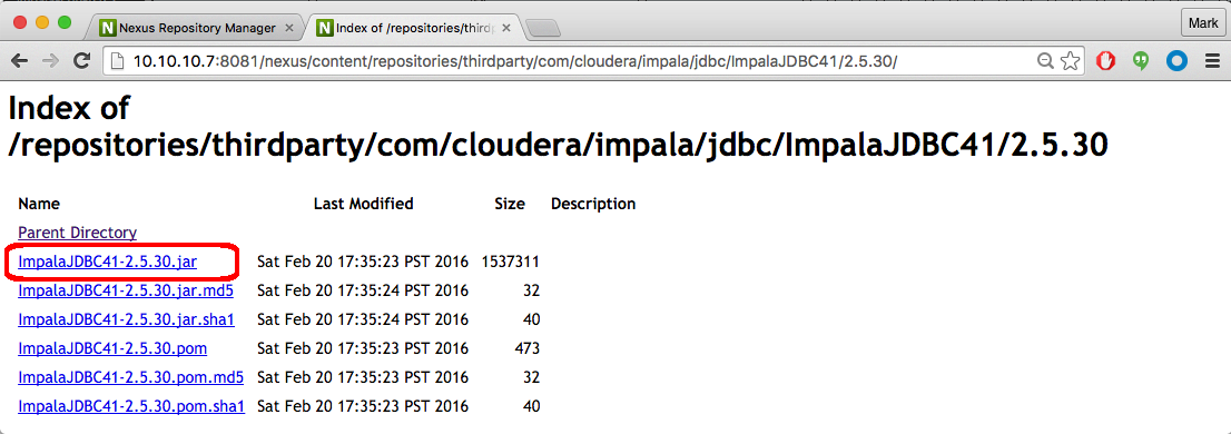 Cloudera-Impala-JDBC-Example by onefoursix