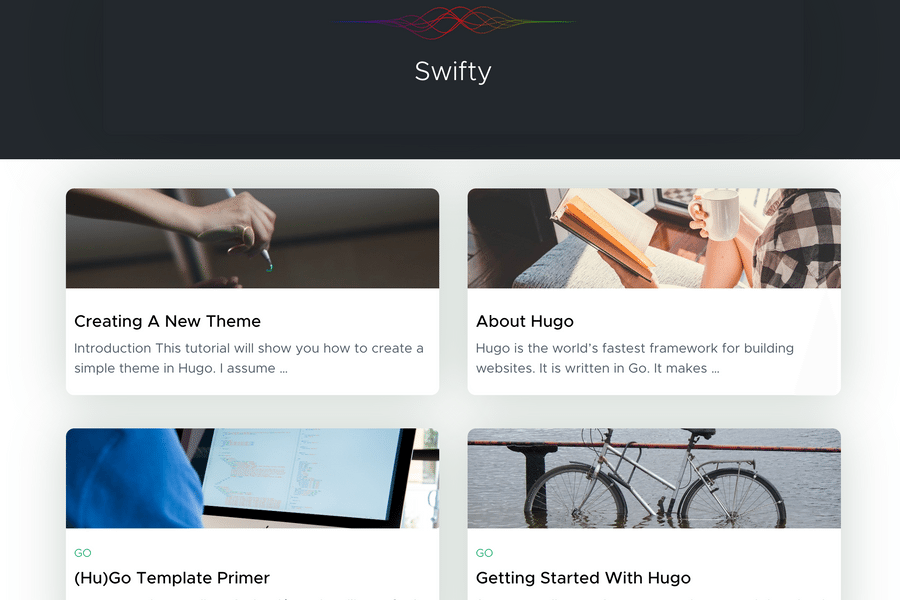 Hugo Swift Theme