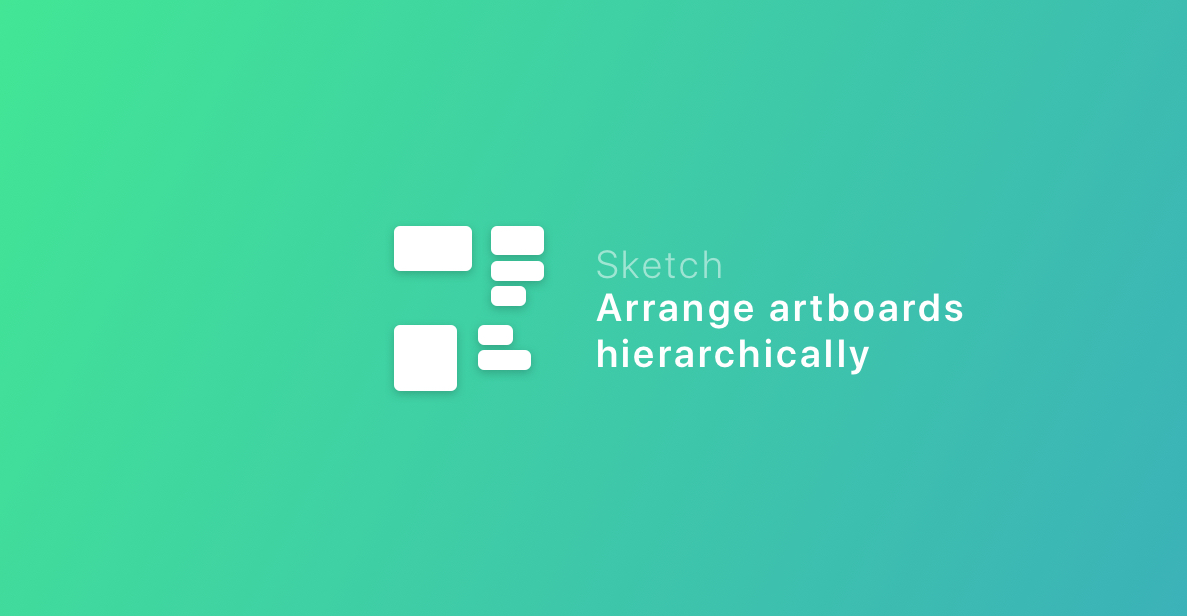 Arrange Artboards Hierarchically logo