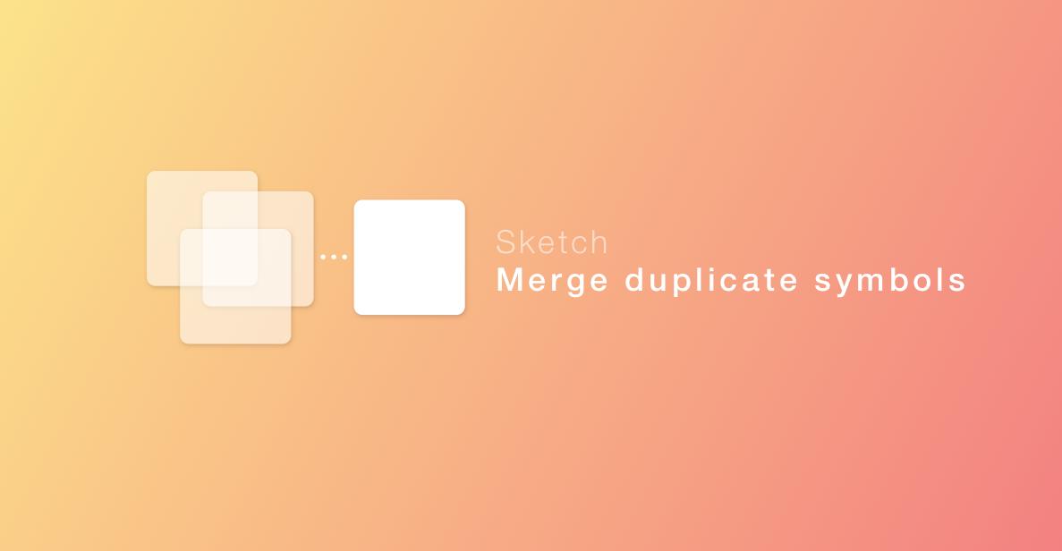 Merge duplicate symbols logo