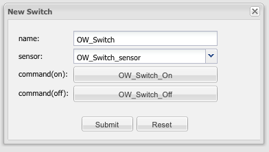 1-Wire - switch
