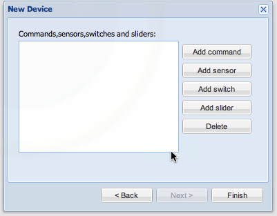 New Device Commands