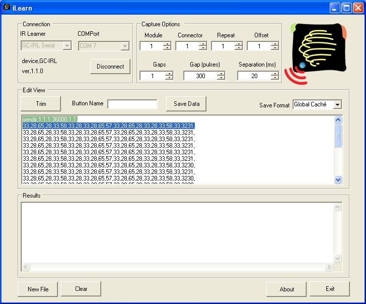 Global Caché - OR_GC_iLearn_CodeLearned