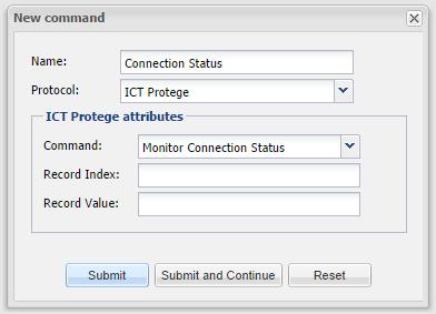 ICT Protege - Command_Connection_Status