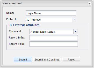ICT Protege - Command_Login_Status