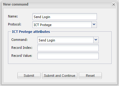 ICT Protege - Command_Send_Login