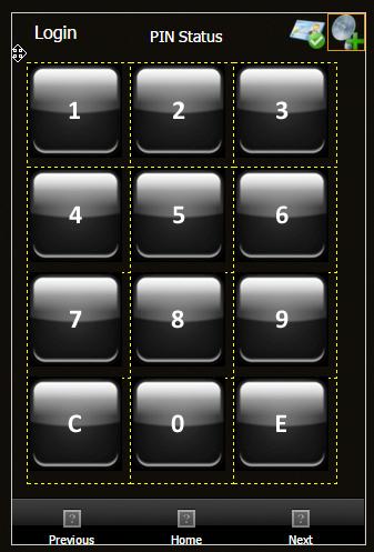 ICT Protege - Example_Keypad