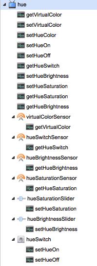 Philips Hue - sensors