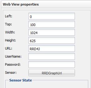 RRD4J Webview Properties