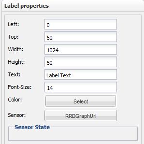 Label properties