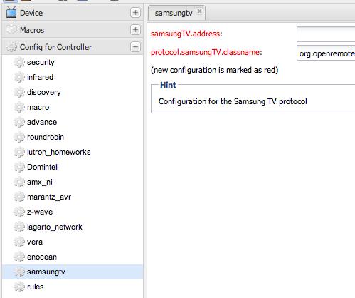 Samsung Smart TV - SamsungTV_Configuration