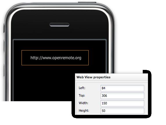 Web Widget Dimensions