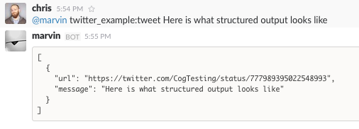 Structured Command Output