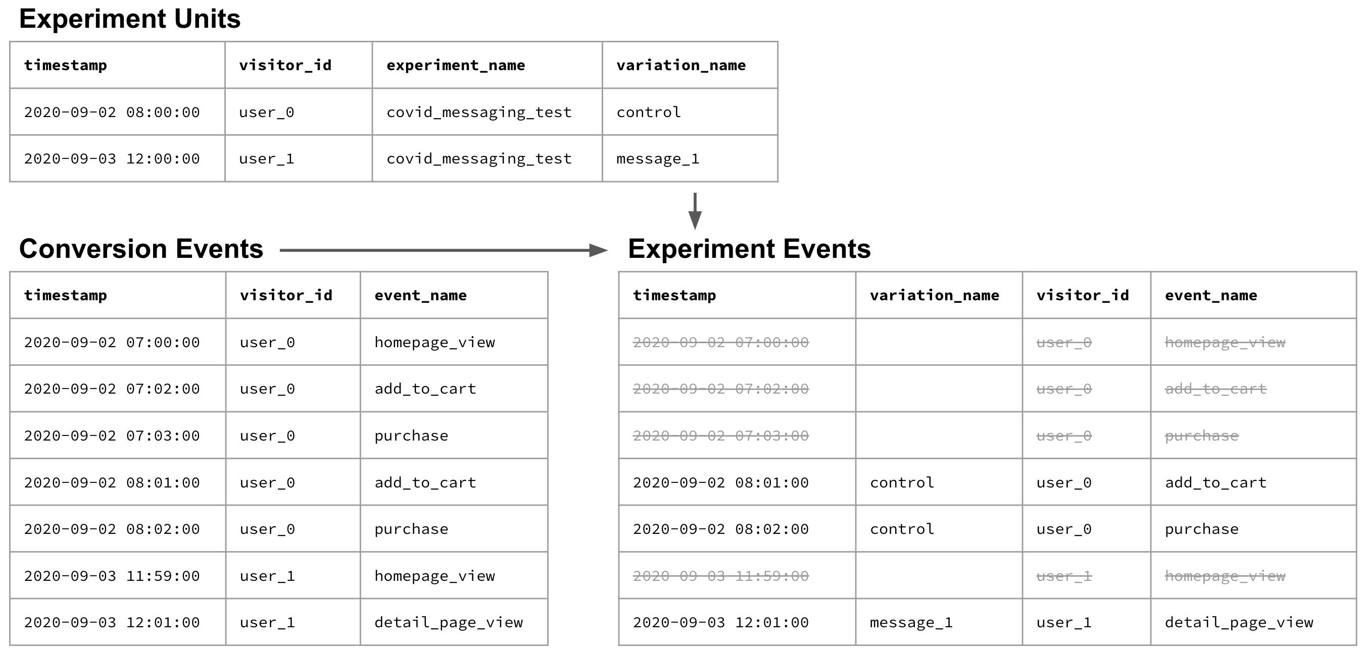 Experiment Units